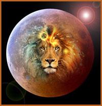 pleine  lune février 2020 lion